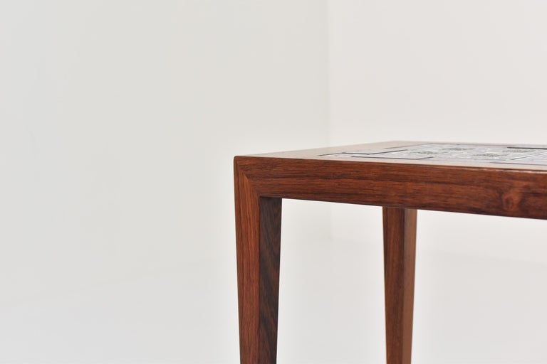 Mid-20th Century Side Table by Severin Hansen for Haslev, Denmark, 1965 For Sale