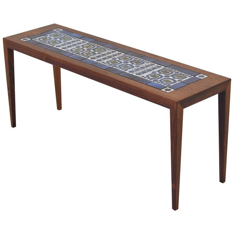 Side Table by Severin Hansen for Haslev, Denmark, 1965 For Sale