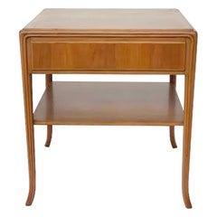 Side Table by T.H. Robsjohn-Gibbings Klismos for Saridis, Greece, circa 1960