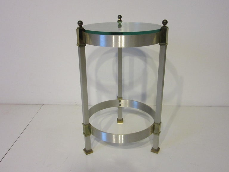 20th Century Side Table or Cigarette Table in the Style of Maison Jansen For Sale