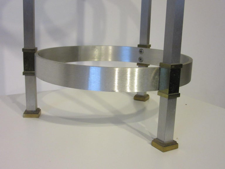 Side Table or Cigarette Table in the Style of Maison Jansen For Sale 1