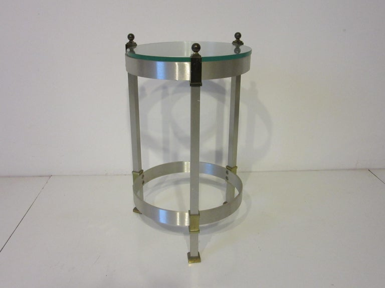 Side Table or Cigarette Table in the Style of Maison Jansen For Sale 2