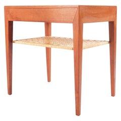 Side Table Designed by Severin Hansen for Haslev Møbelsnedkeri, Denmark