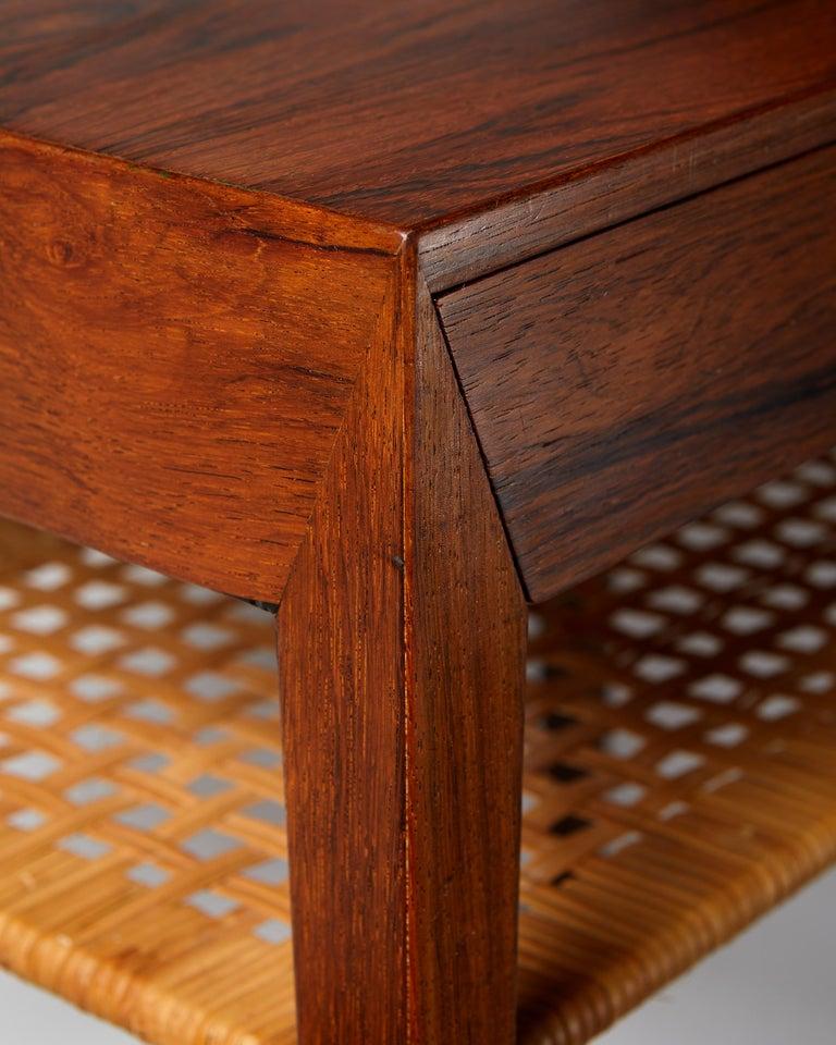 Side Table Designed by Severin Hansen for Haslev Mobelfrabrik, Denmark, 1950s For Sale 2
