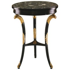 """Side Table, Empire Style, """"Copy D'Ancienne"""""""