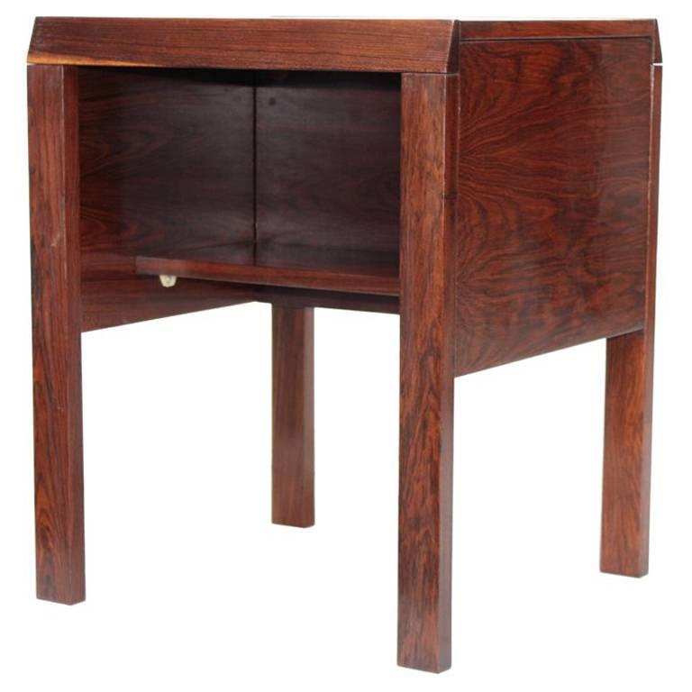 Side Table in Jacaranda by Jean Gillon