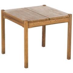Side Table in Pine by Ilmari Tapiovaara for Laukaan Pu, circa 1960