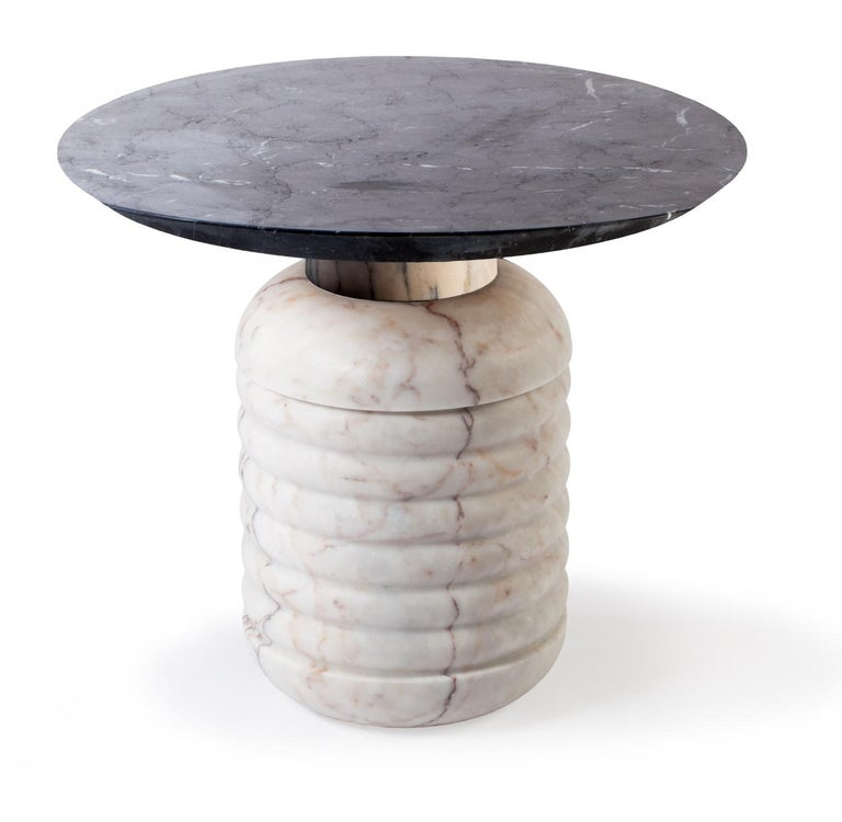 Side Table Jean in Marble 2
