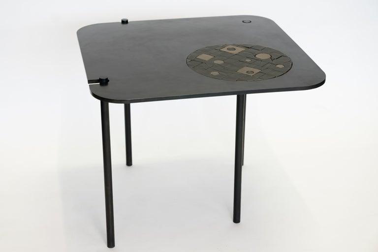 Modern Side Table No. 12 by JM Szymanski For Sale