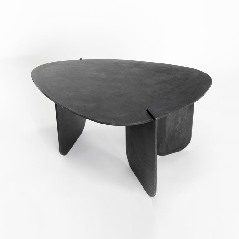 Side Table No. 15 by JM Szymanski In New Condition For Sale In Geneve, CH