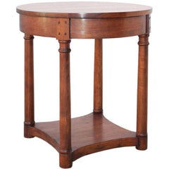 Side Table or Occasional Table, Walnut