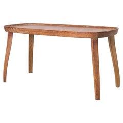 Side Table, Solid Oak, Maurizio Tempestini, 1938 / 1940