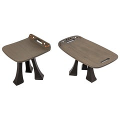Side Table & Stool Set from the Pok Collection