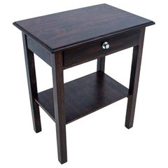 Side Table with a Drawer, Poland, Around 1930