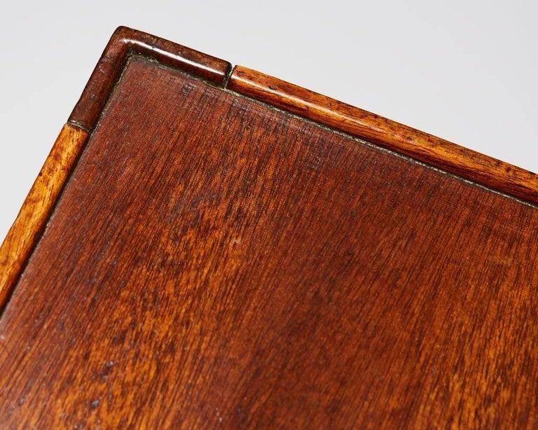 Side Table with Bookshelf Designed by Josef Frank for Svenskt Tenn, Sweden, 1950 For Sale 1