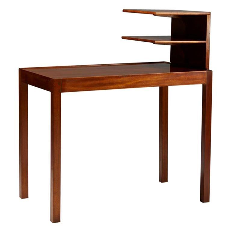 Side Table with Bookshelf Designed by Josef Frank for Svenskt Tenn, Sweden, 1950 For Sale