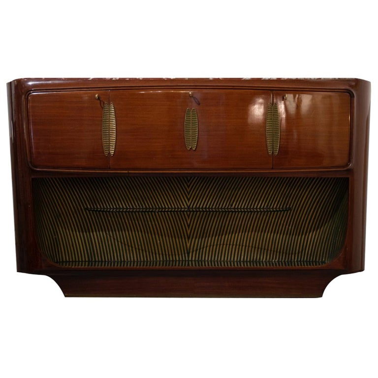 Sideboard and Dry Bar by Vittorio Dassi, 1950s For Sale