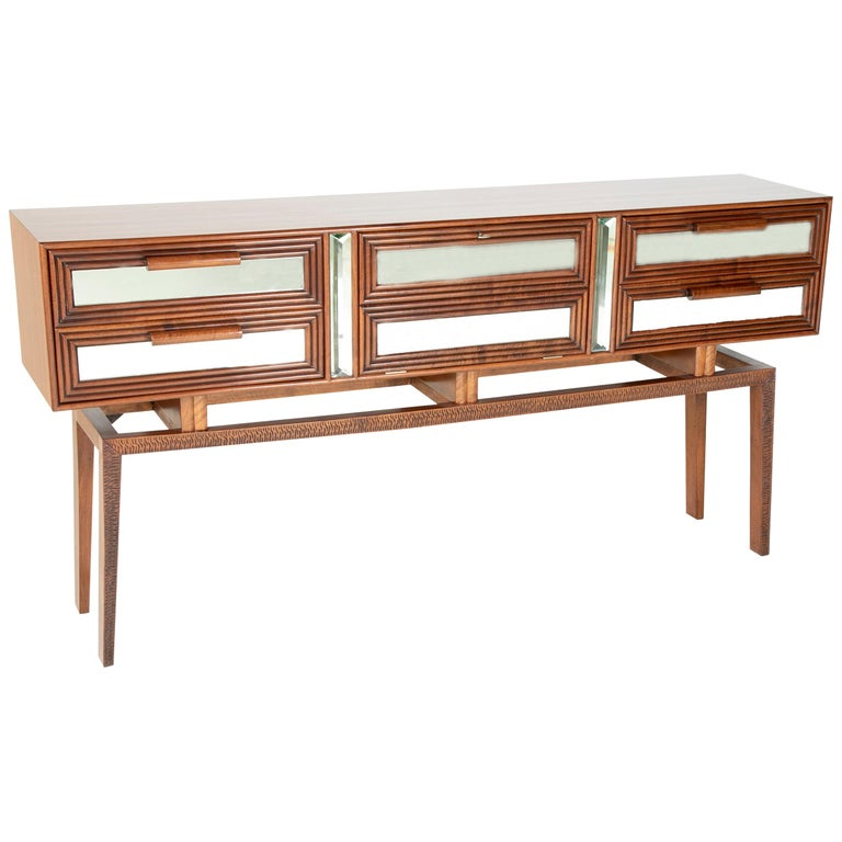 Sideboard Bar Designed by G. Cavatorta, circa 1930s For Sale