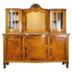 Sideboard or Buffet from the Interwar Period Veneered with Walnut