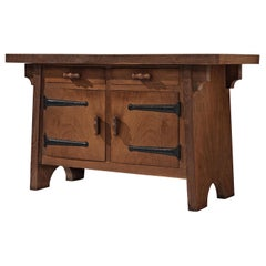 Sideboard by Ernesto Valabrega in Stained Oak