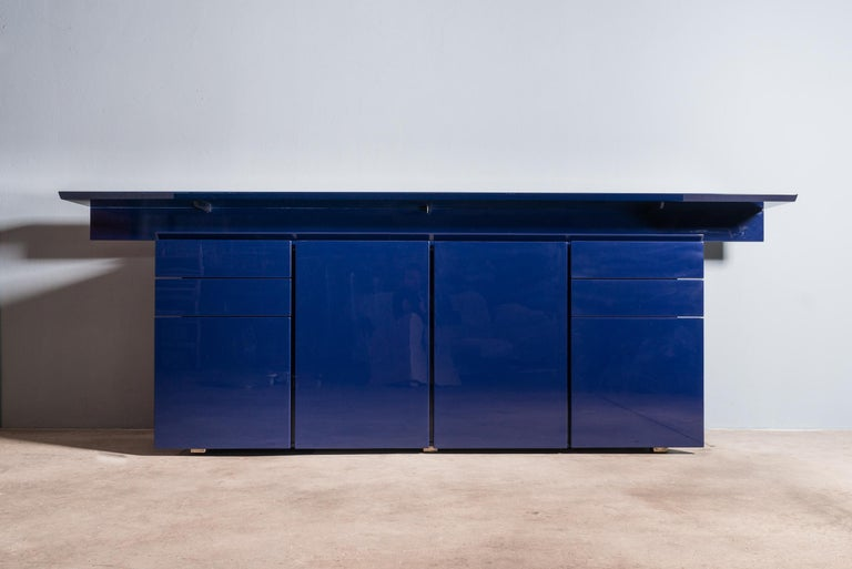 Sideboard by G.Offredi for Saporiti For Sale 5