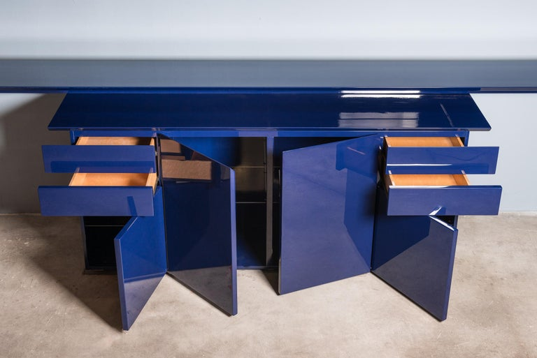 Mid-Century Modern Sideboard by G.Offredi for Saporiti For Sale