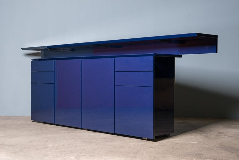 Italian Sideboard by G.Offredi for Saporiti For Sale