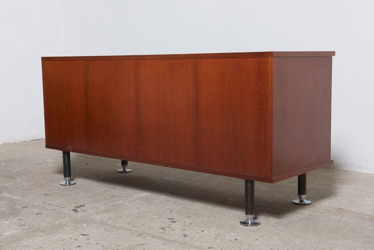 Aluminum Sideboard by Ico Parisi for MIM, Roma, Italy For Sale
