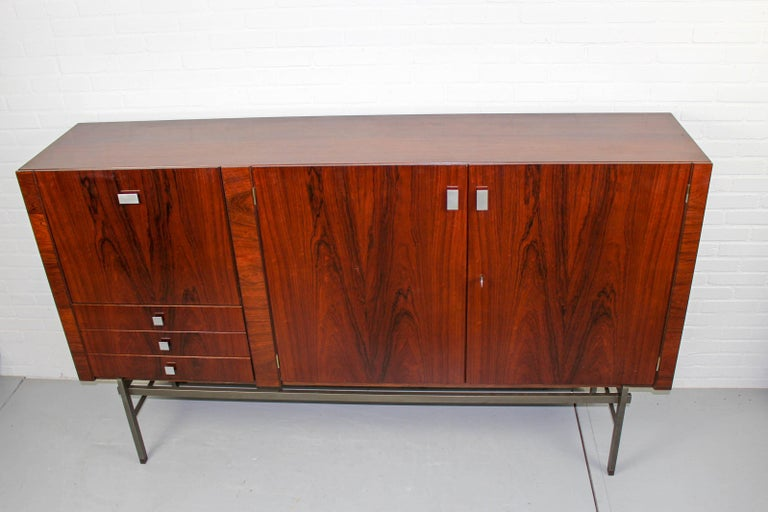 Sideboard by Louis van Teeffelen for WéBé, 1960s For Sale 7