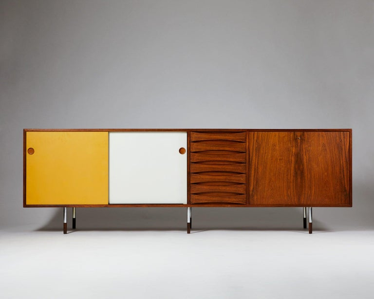 "Sideboard ""Credenza"" model 29A designed by Arne Vodder for Sibast, Denmark, 1958-1959.