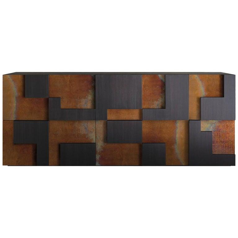 Sideboard Cuzco Corten Steel For Sale At 1stdibs
