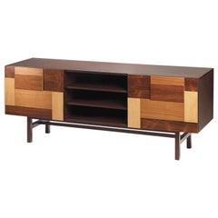Sideboard Form aus Verschiedenem Holz