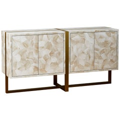 Sideboard in Ocean Fossils, by Studio Glustin