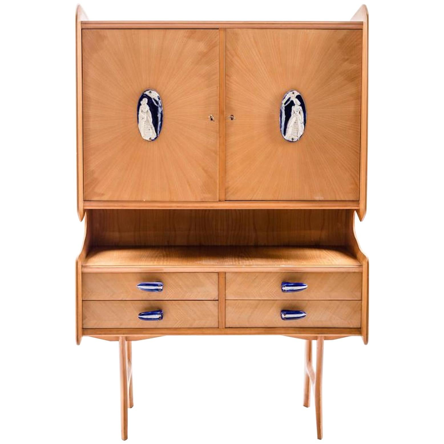 Sideboard in the Style of Ice Parisi, 1960