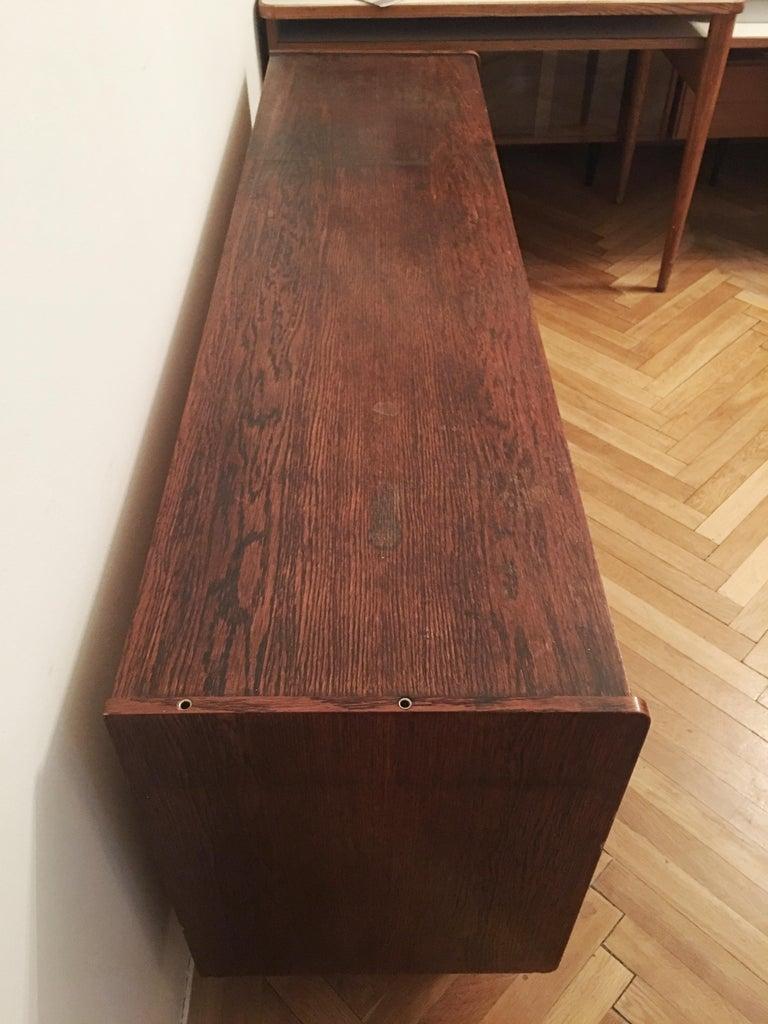 Sideboard Jiri Jiroutek for Interier Praha, U 460 Yellow and Gray For Sale 3