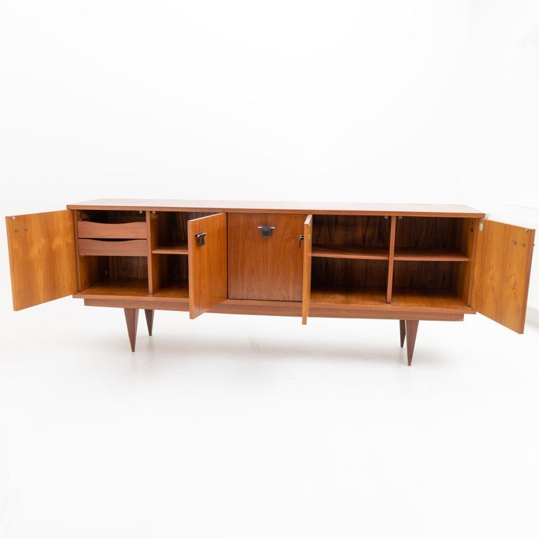 Mid-Century Modern Sideboard, Malora / Ameublement NF, France, 1960s For Sale