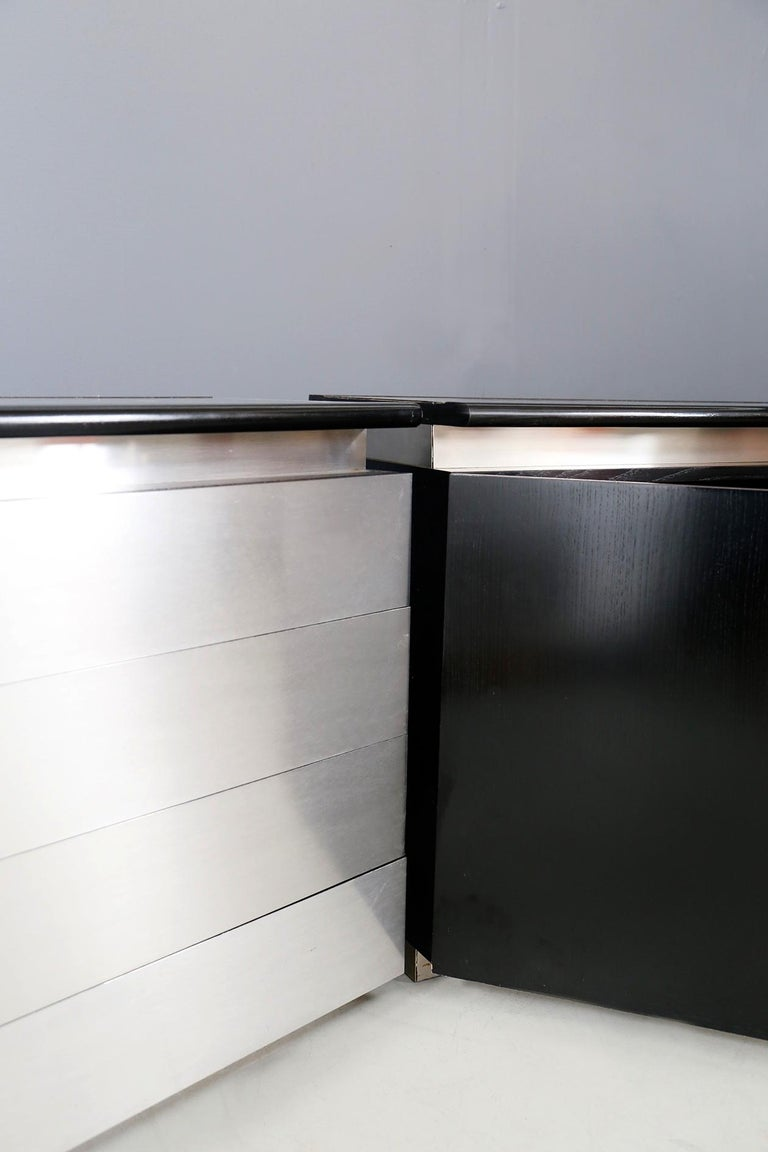 Sideboard Mobile by Acerbis Model Parioli System, 1970s In Good Condition For Sale In Milano, IT
