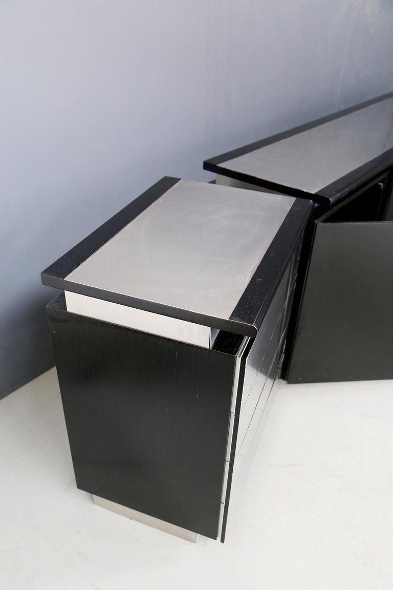 Sideboard Mobile by Acerbis Model Parioli System, 1970s For Sale 2