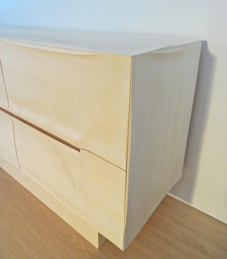 Sideboard Solid Wood in Organic Design, Handcrafted in Germany,  For Sale 3