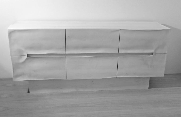 Sideboard Solid Wood in Organic Design, Handcrafted in Germany,  For Sale 4