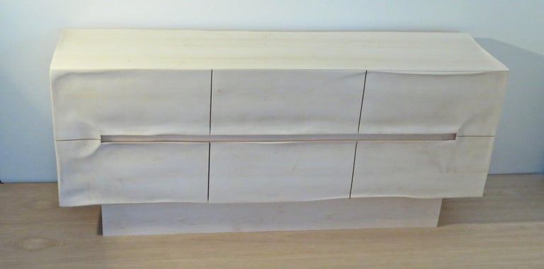 Sideboard Solid Wood in Organic Design, Handcrafted in Germany,  For Sale 1
