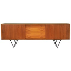 Sideboard Teak, Danish Design, 1960s, Producer Clausen & Son