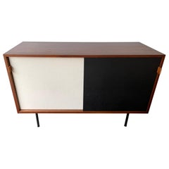 Sideboard Wood and Cane Model 116 by Florence Knoll, Germany, 1950s