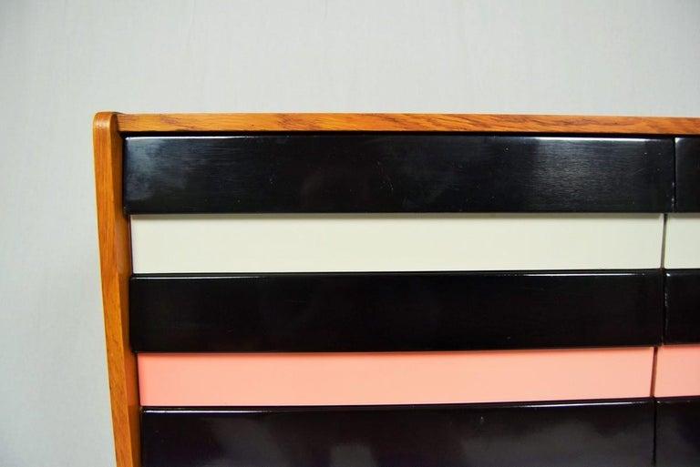 Mid-Century Modern Sideboard, Chest of Drawers by Jiří Jiroutek, Czechoslovakia, 1960s For Sale