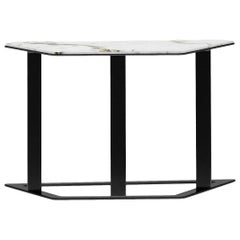Sideward Coffee Table Trapezoid by Fabio Arcaini Settee Velvet Covered Shell