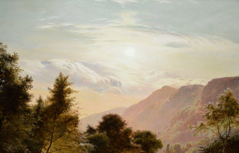 Betws-y-Coed, North Wales - 19th Century Oil Painting - Sidney Richard Percy For Sale 2
