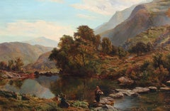 Near Betwys-y-Coed, North Wales - Sidney Richard Percy - British