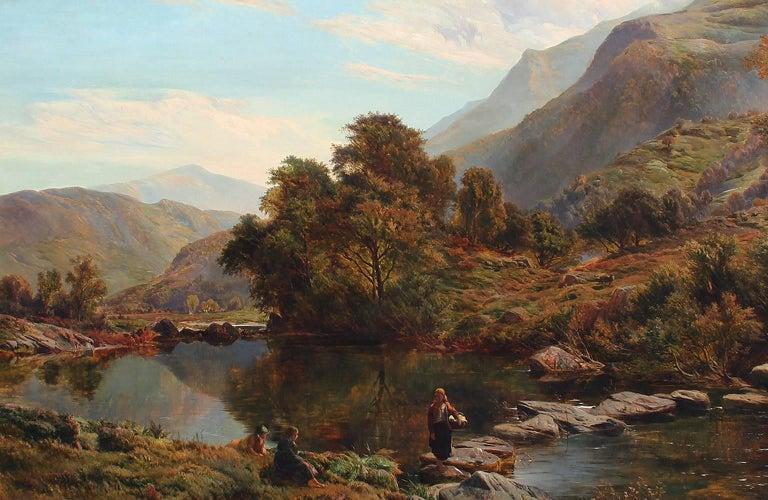 Near Betwys-y-Coed, North Wales - Sidney Richard Percy - British