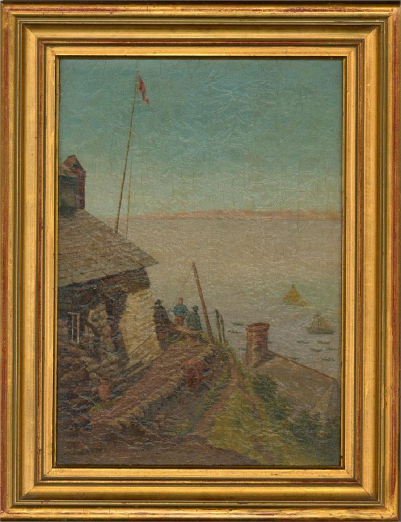 Sidney Yates Johnson (fl. 1890-1926) - 1894 Oil, Blue Skies