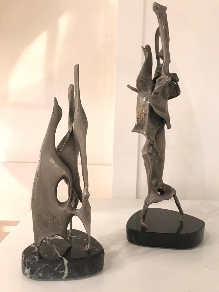 Mid-Century Modern Sido and Francois Thevenin Sculptures For Sale